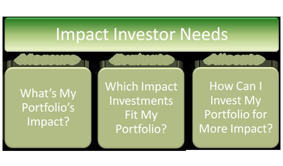 Impact Investor Needs