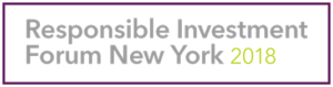 Responsible Investment Forum New York