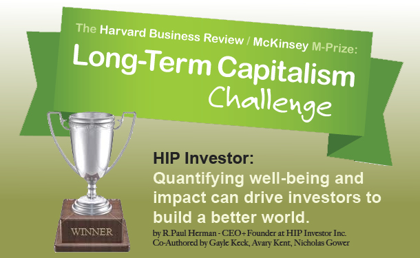 Harvard Business Review McKinsey Long Term Capitalism Challenge